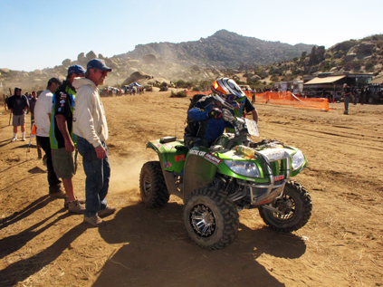 Thundercat 1000   Speed on Arctic Cat Thundercat Atv Wins The Baja 1000    The Arctic Speedway