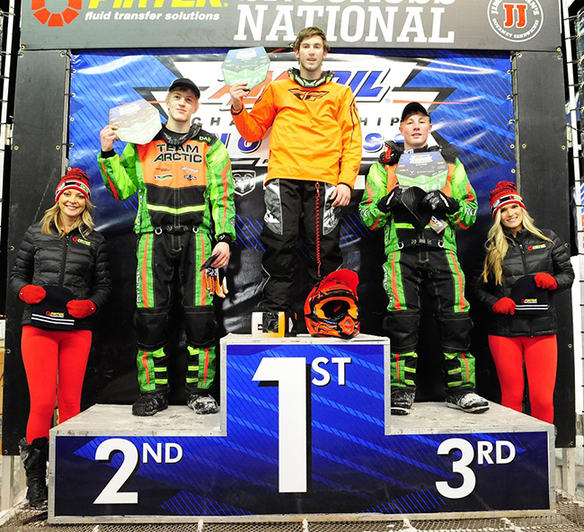 Team Arctic Sweeps Sport Podium